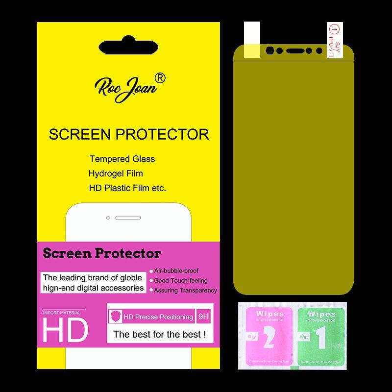 Película protectora de pantalla de hidrogel suave de cobertura completa para Apple iPhone 11 Pro XS Max X XR 8 7 6 6S Plus 5 SE película (no vidrio templado)