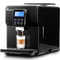 2018 Fancy Automatic Italian Coffee Machine Household Commercial Office Freshly Ground Beans 19 Pa Coffee Maker Free Shipping