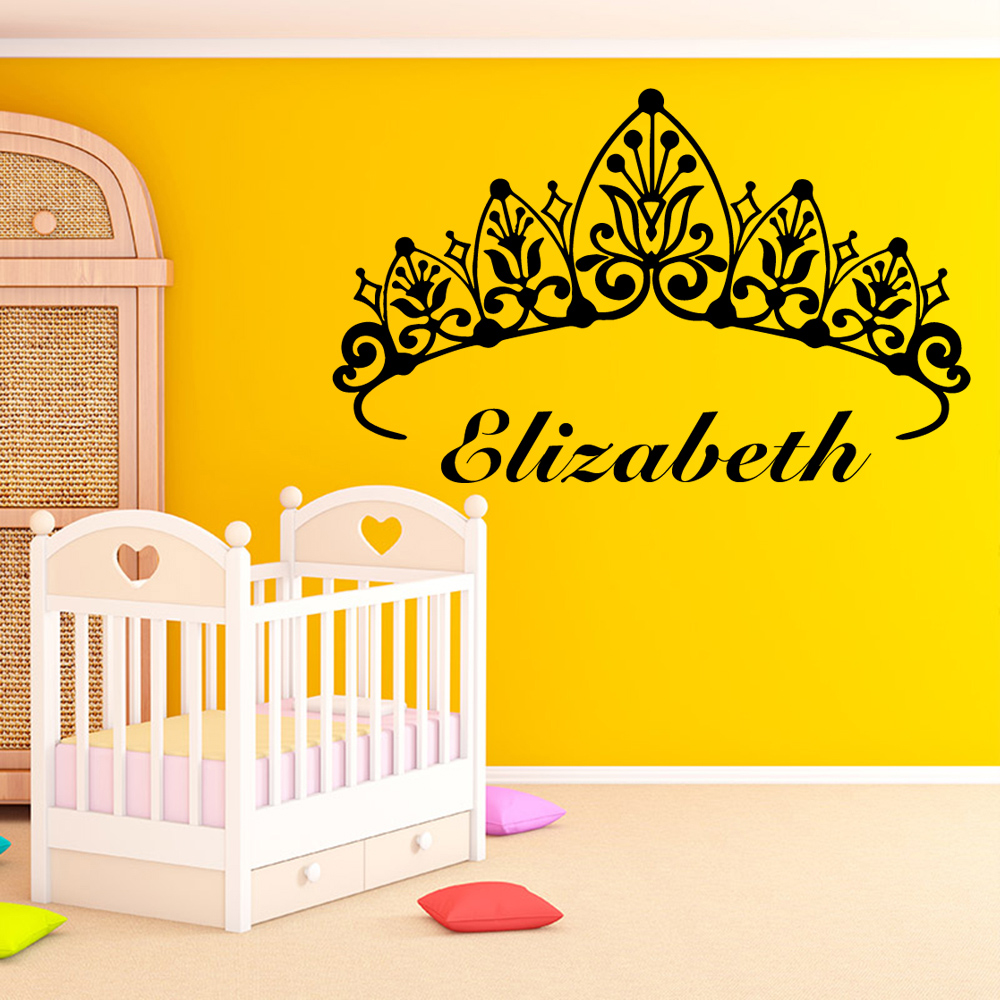 Diy Name Wall Sticker Removable Stickers Diy Wallpaper For Kids ...