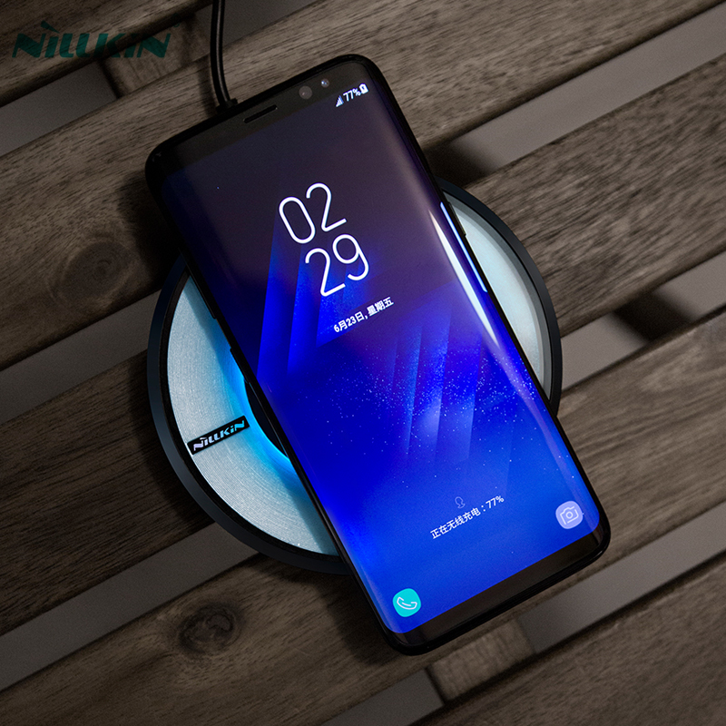 nillkin magic disk 4 qi wireless fast charger for samsung galaxy note 8 s8 s8 wireless. Black Bedroom Furniture Sets. Home Design Ideas