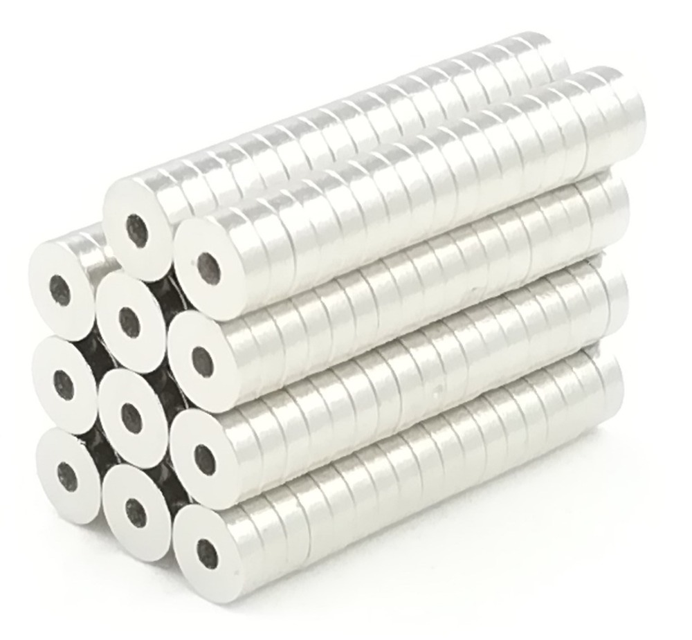 10pcs 5*1.5 Strong Ring magnets Dia 5mm x 1.5mm N35 Neodymium Magnet Rare Earth 5x1.5 5mm*1.5mm hole: 1.5mm цена и фото