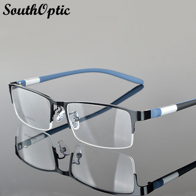 2016 nova Morden aço chapa de aço inoxidável excelentes óculos homens 2442 óculos de armação prescrição Frame ótico clássico