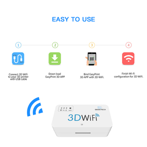 Image 3 - Geeetech 3D WiFi Module 3D Printer Parts & Accessories with TF Card USB2.0 Support Wireless for Most Hot 3D Printers