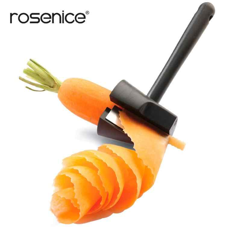 Easy Carrot Peeler Curler Multi-functional Vegetable Sharpener and Peeler Carrot Flower Maker