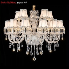 Crystal Chandelier Living Room K9 Crystal Chandeliers Clear Hanging Lights Fixture Wedding Decoration Pendant Lamp Free Shipping pink kids lamp k9 luxury crystal pendant lamp for living room lamp indoor light crystal pendant light free shipping