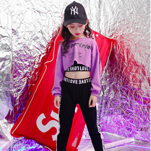 Girls Stage Show wear Costumes Kids Ballroom Jazz Dancing Outfits for Girls Boys T Shirt Crop Tops pants Hip Hop Dance Clothes 2018 fashion kids modern dance costume jazz hip hop dance costumes set tops pants for girls boys dancing clothing h33