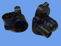 Customized Black Fire Resistant ABS Plastic, Black Painting, Silk Screen, Chrome Plating