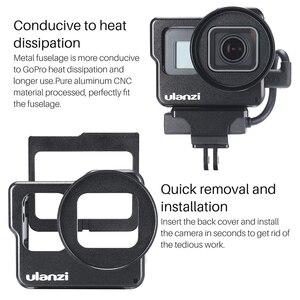 Image 4 - Ulanzi V3 金属 Vlog ケージ移動プロ 7 6 5 ユニバーサル 52 ミリメートルフィルタービデオ Vlog ケージのためのマイク /LED ビデオライト
