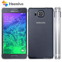 100 Original Unlocked Samsung Galaxy Alpha G850A G850 G850F Ouad Core 32GB ROM 12 0MP 4