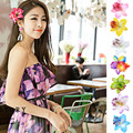 Горячая Маркетинга 1 ШТ. Богемия цветок заколки для волос для женщин аксессуары для волос для пляжа