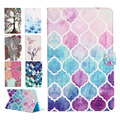 New Fashion for Apple IPad Mini Case Pu Leather Cute Cover Case for New IPad Mini 1/2/3 Retina Lovely Painting Style Stand Funda