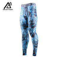 Life on track Men's Sports Compression Cool Dry Pants Workout Tights Running Base layer Leggings&Shirts for F,Basketball