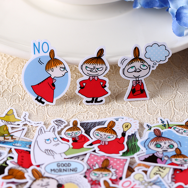40pcs Creative Kawaii Self-made Witch Girls Stickers/ Beautiful Stickers /decorative Sticker /DIY Craft Photo Albums