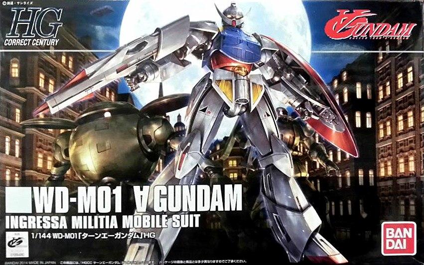 1PCS Bandai 1/144 HGUC 177 SYSTEM WD-M01 Turn A Gundam Mobile Suit Assembly Model Kits lbx toys education toys