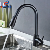SOGNARE Pull Out Kitchen Sink Faucet Single Handle Kitchen Tap Water Mixer Sink Tap Oil Rubbed