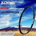 Zomei UV Ультрафиолетовый Фильтр Защиты Объектива для Цифровой Зеркальный Фотоаппарат Canon Nikon Sony SLR объективы 52 мм 58 мм 62 72 мм 77 мм 82 мм