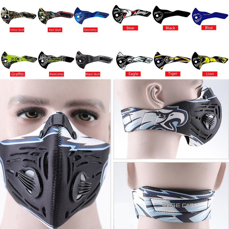 BASECAMP Face Sport Mask Clean Air Anti-dust Windproof Sport Cycling Skiing