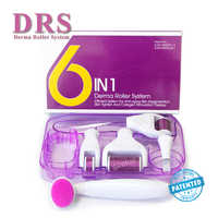 Original DRS 6 in 1 Derma Roller Microneedle Kits for Multiple skin care treatment CE certificate Proved