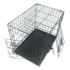 Lovinland Wire Fence Pet Dog Cat Folding Exercise Yard Pet Play Pen Kennel Cage Indoor & Outdoor Metal Playpen -US stock
