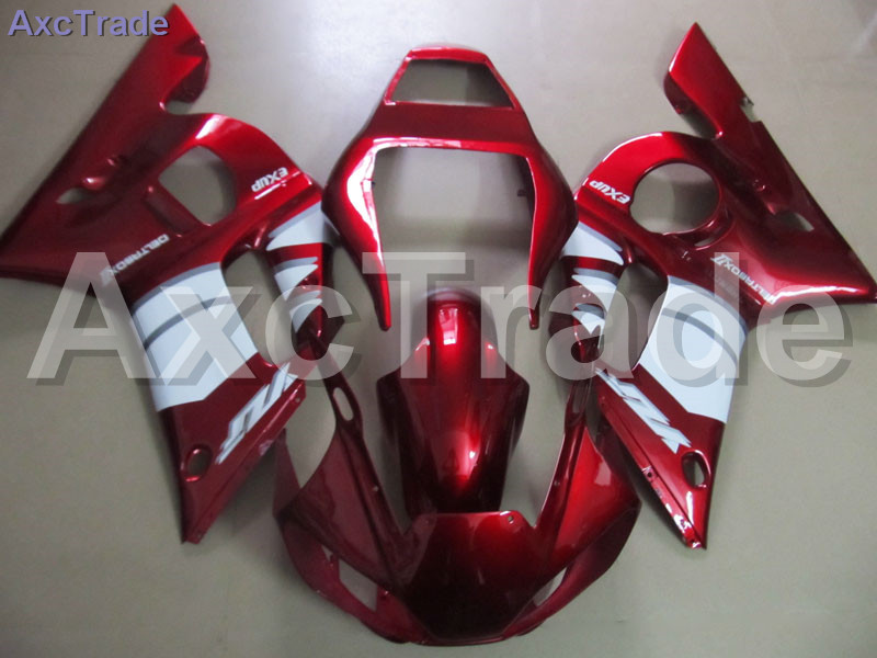 Red Moto Fairing Kit For Yamaha YZF600 YZF 600 R6 YZF-R6 1998-2002 98 - 02 Fairings Custom Made Motorcycle Bodywork Injection motorcycle fairings kits for yamaha yzf600 yzf 600 r6 yzf r6 2008 2014 08 14 abs injection fairing bodywork kit red black a40