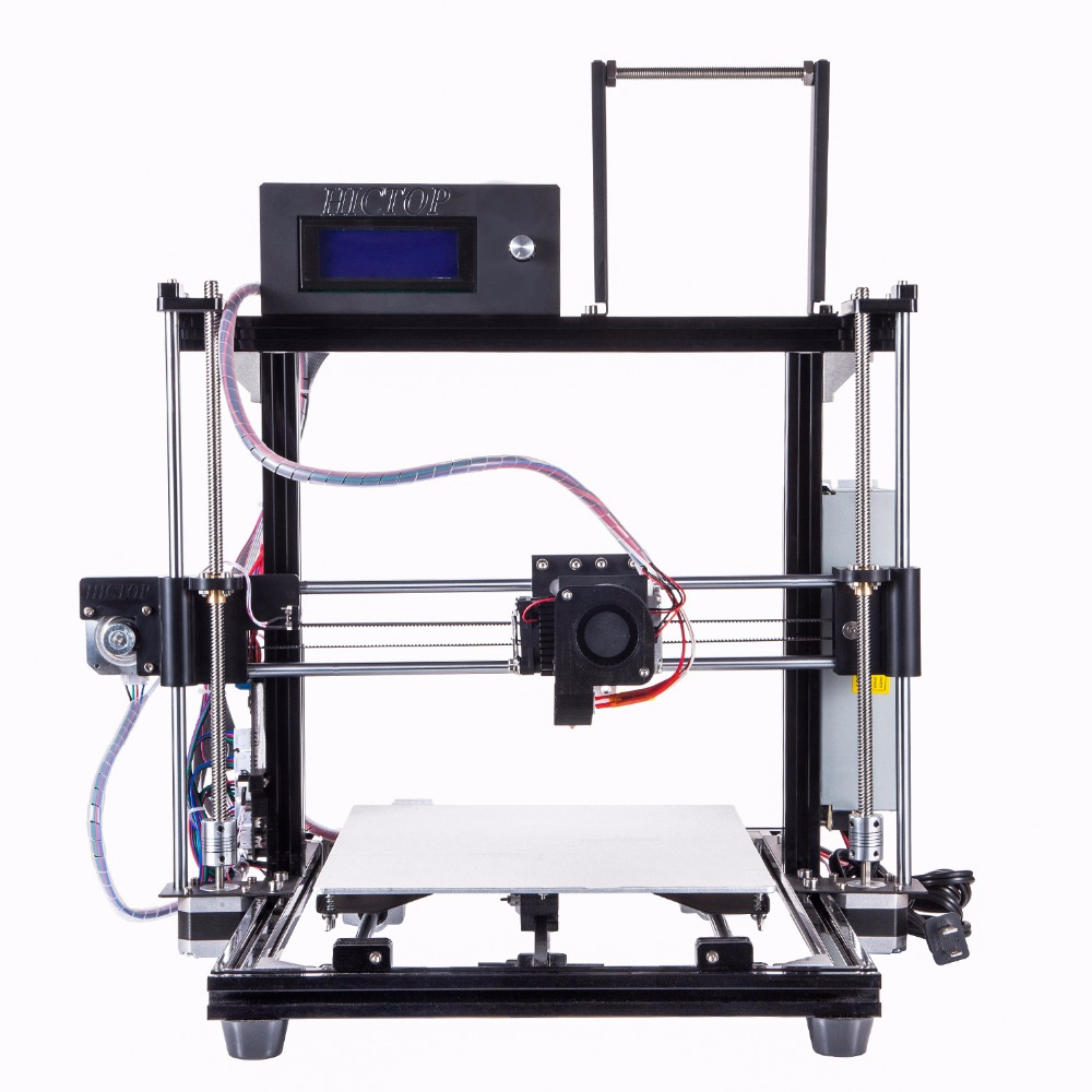 HICTOP Precision Reprap Prusa i3 DIY 3d Printer with Filaments, Kit and LCD Screen