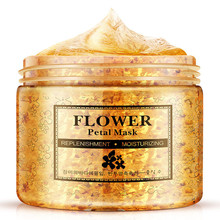 Flower Petals Mask hydrating face mask Whitening Hydrating Moisturizing Washable day and night mask Anti Aging Skin Care