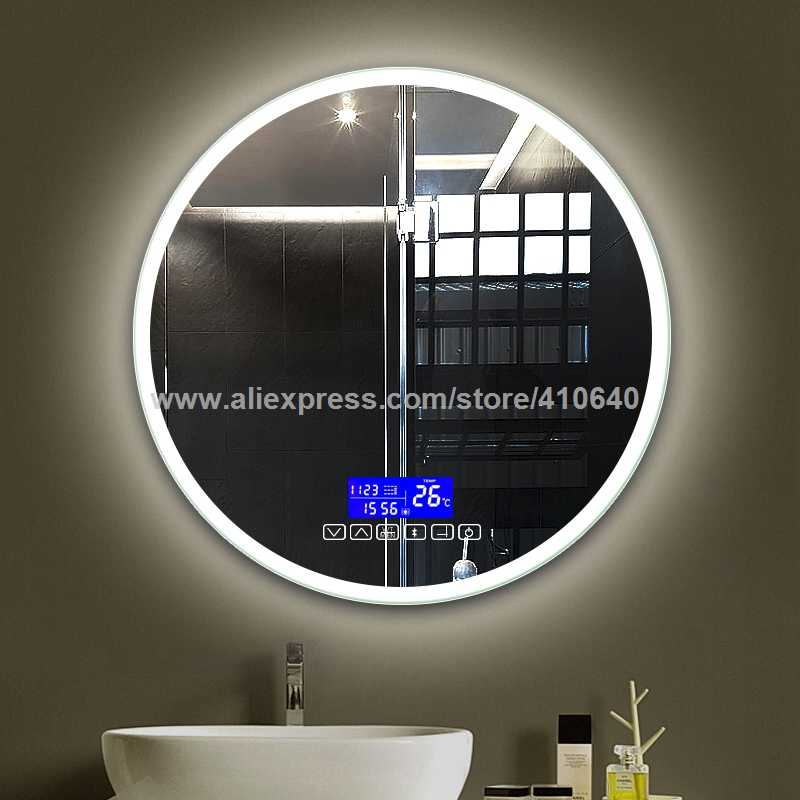 detail feedback questions about bathroom mirror surface time rh aliexpress com  built in wall radio for bathroom