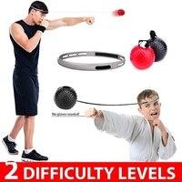 Мяч для борьбы боксерский шлем группа Муай обучение для боксерское оборудование тайский рефлекторный удар скорость упражнения