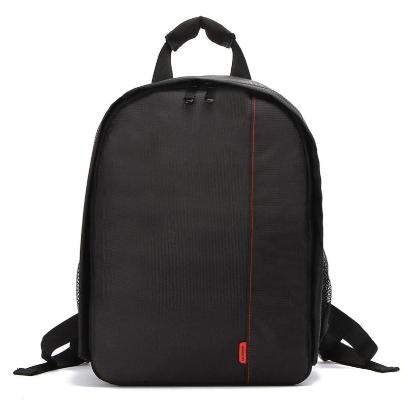 Small micro SLR professional multi-function travel backpack USB charging camera bag