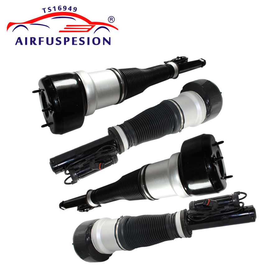 4pcs Front+Rear Air Suspension Shock Absorber Air spring For Mercedes benz W221 2213204913 2213209313 2213205513 2213205613-in Shock Absorber& Struts from Automobiles & Motorcycles