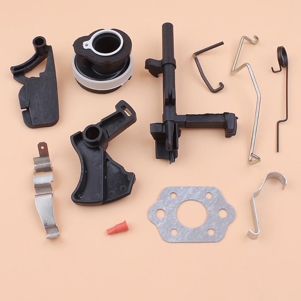 Intake Manifold Throttle Trigger Choke Rod Switch Shaft Kit Fit STIHL MS180 MS170 018 017 MS 180 170 Chainsaw Replacement