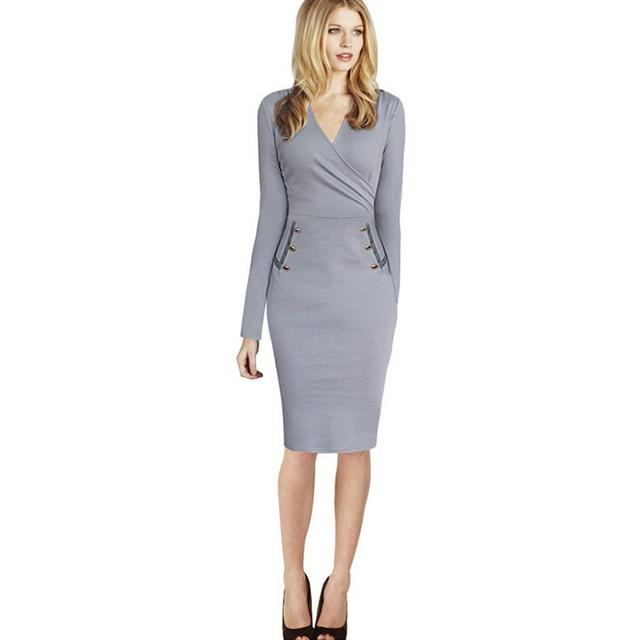 Elegant Sexy Work dress