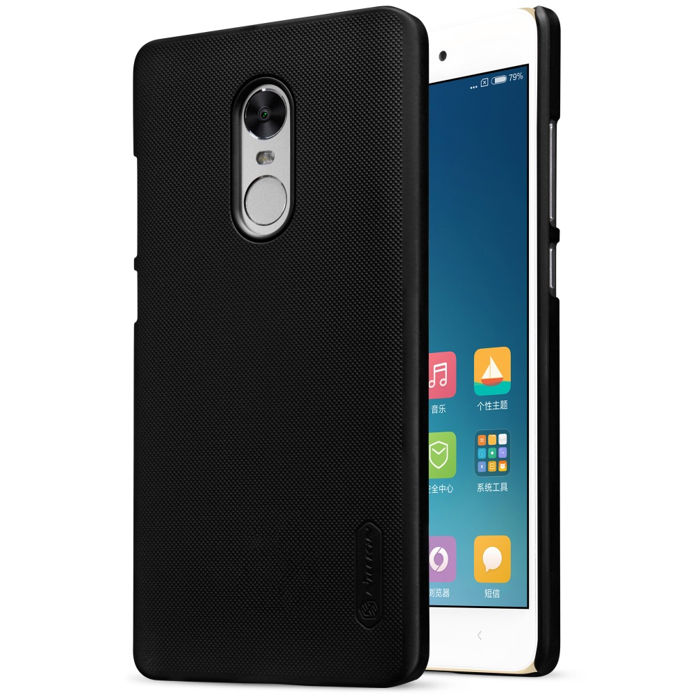 Cover Case For xiaomi redmi note 4x Nillkin Frosted Shield Phone Cases Back Hard Cover PC Matte Carry case for redmi note 4x <font><b>4</b></font> <font><b>x</b></font>