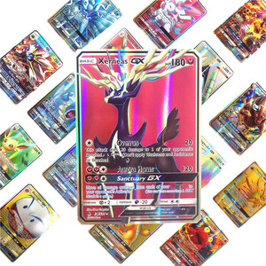 Image 3 - 300 個英語 gx メガ tagteam ボードゲームカードトレーディングカード突くフラッシュ月カードバトルため tcg コレクションカード子供のおもちゃ