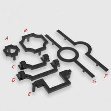 1.25 2.5 3.75 5 Black Bail Pull Knobs Kitchen Cabinet Handles Door Knob Handle Dresser Drop Ring Drawer