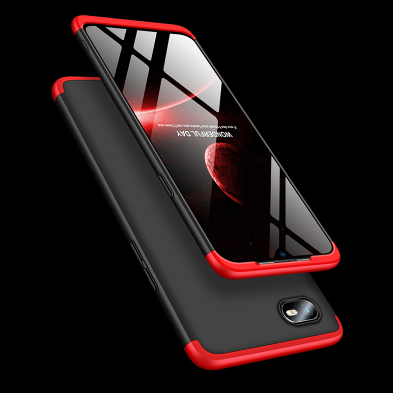 Case On For OPPO A1K Realme C2 A1K Case 360 Full Protection Shockproof Phone Cases For OPPO A1K Realme C2 Cover Coque Fundas