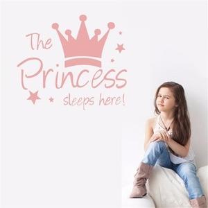 The Princess Sleeps Here Wall