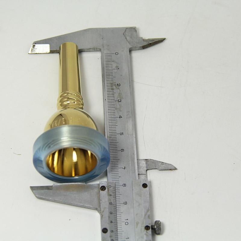 Мундштук для тромбона 6 1/2AL предупреждение металла, не вызывает аллергию