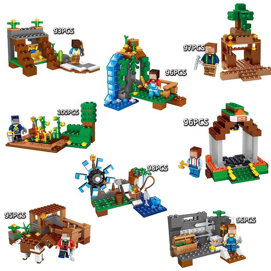 lego minecraft 21118 instructions