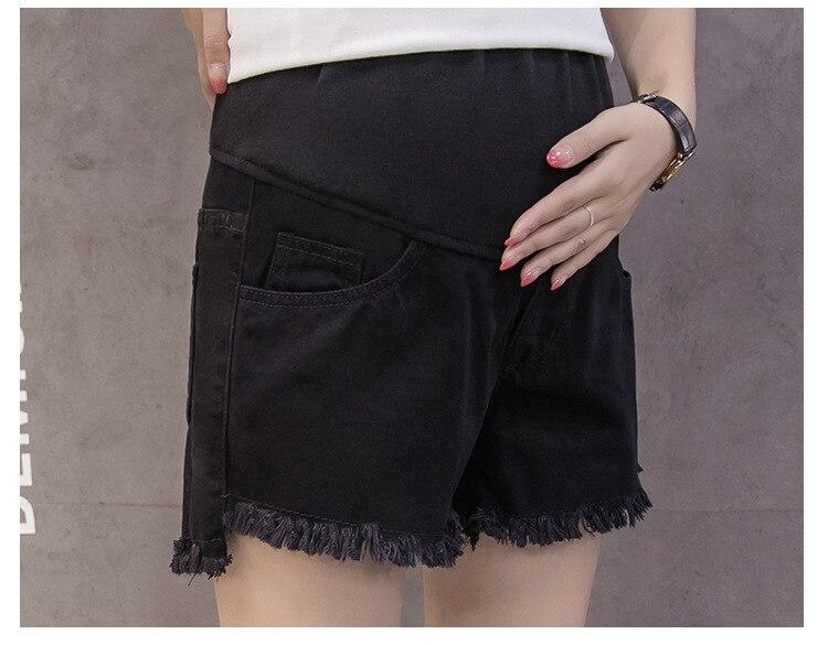 Женская поддержка живота джинсы Летняя одежда для беременных модные брюки для беременных и матерей после родов одежда трисечение прямые обтягивающие завод