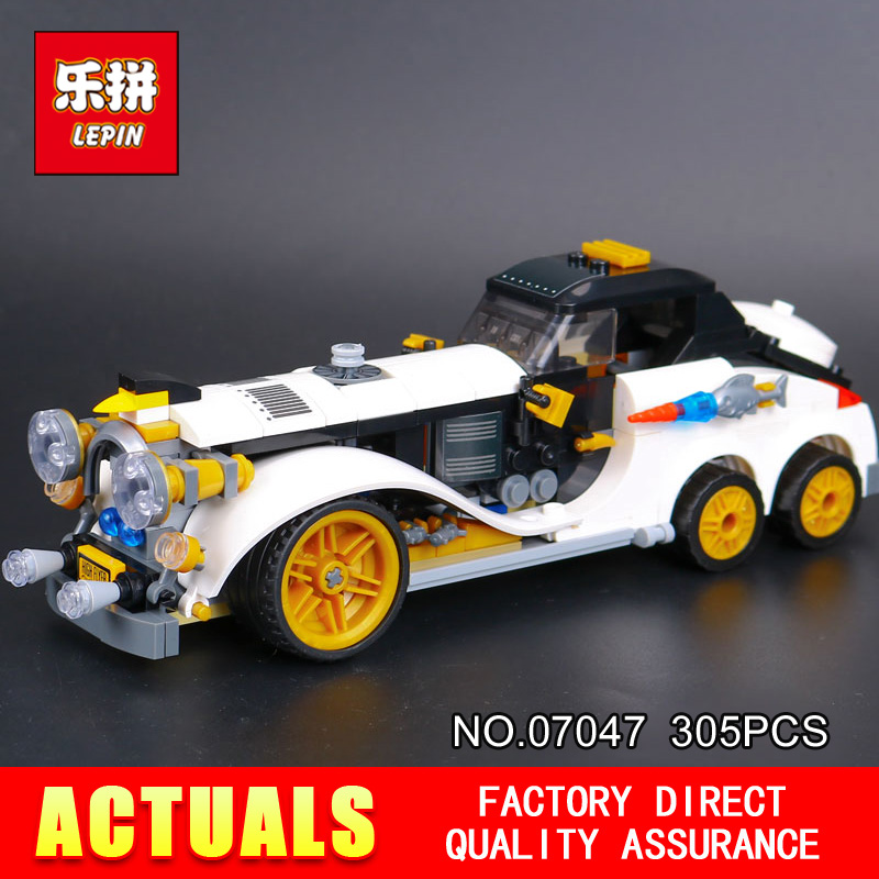 New 305Pcs Lepin 07047 Genuine Series The Arctic War Penguin Classic Car Set Building Blocks Bricks Toys with 70911 gifts rollercoasters the war of the worlds