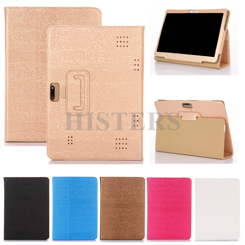 HISTERS PU Leather Cover for 10.1 inch BDF BMXC K107 S107 K108 T900 MTK8752 MTK6592 <font><b>MTK6580</b></font> <font><b>Octa</b></font> <font><b>Core</b></font> 10.1 inch Tablet Case image