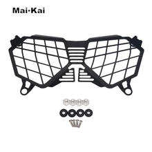 MAIKAI For TRIUMPH TIGER 800 XRX / XCX 2017-2019 Motorcycle Modification Headlight Grille Guard Cover Protector