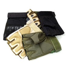 CNIKESIN New 4 Colors Tactical Gloves Men/Women Half Finger Gloves Bicycle Gloves Fit Climbing Antiskid Sports Training Mittens