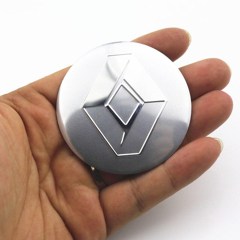 4 шт./лот 56,5 мм крышка обода автомобиля наклейка крышка ступицы колеса наклейка для Renault Wheel Clio Megane Laguna Scenic TwinGo эмблема значок