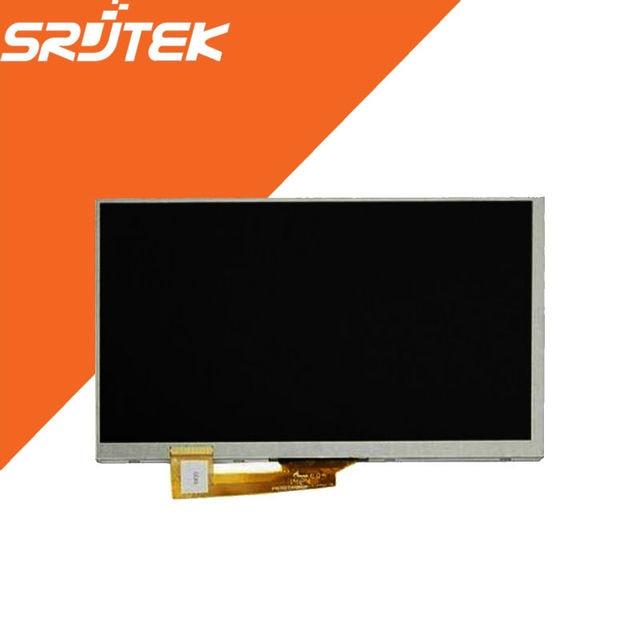 """7 """"novo Display LCD de Matriz Para Irbis TZ70 4G/Irbis Hit TZ49/TZ56 Irbis Tablet Tela LCD Interna painel Lens Peças de reposição"""