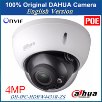 100 Original Dahua DH IPC HDBW4300R Z English Version IP Camera 3MP 1080p Varifocal Motorized Lens
