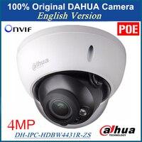 100 Original Dahua DH IPC HDBW4300R Z English Version IP Camera 3MP 1080p Varifocal Motorized Lens