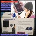 200 unids! Wireless Bluetooth Beanie Invierno de Punto Sombrero Auricular Manos Libres Altavoz de La Música Mp3 Deporte Mágico Tapa Inteligente, + Caja al por menor de Regalos