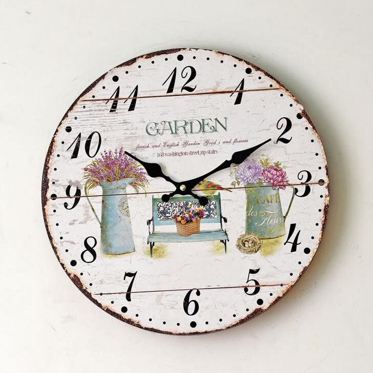 Wall Clocks For Office. 2016 New Design Garden Flowers Digital Wall Clock  Home Living Room